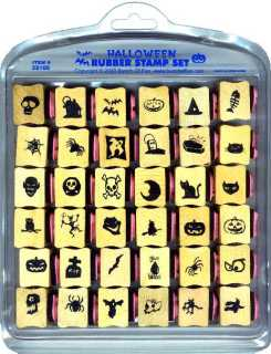 Halloween rubber stamps pictures